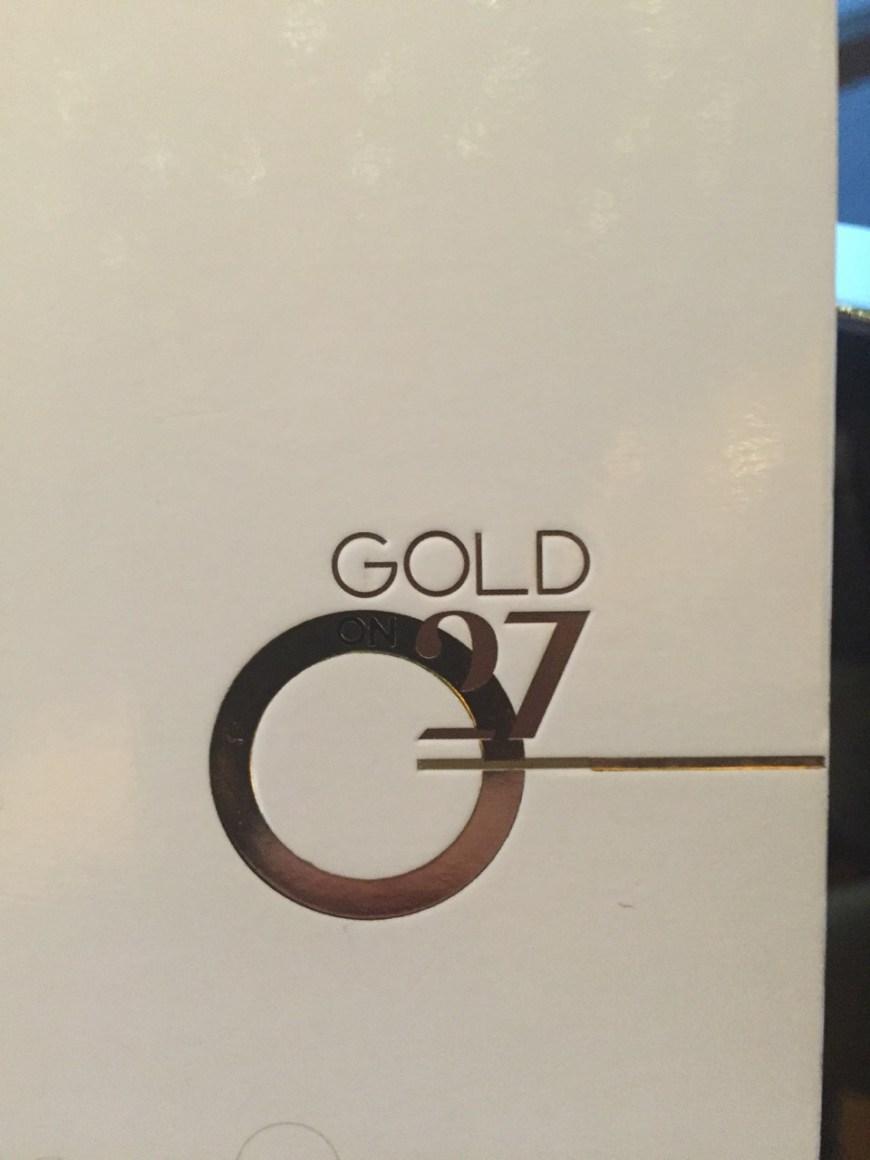 Gold on 27 menu