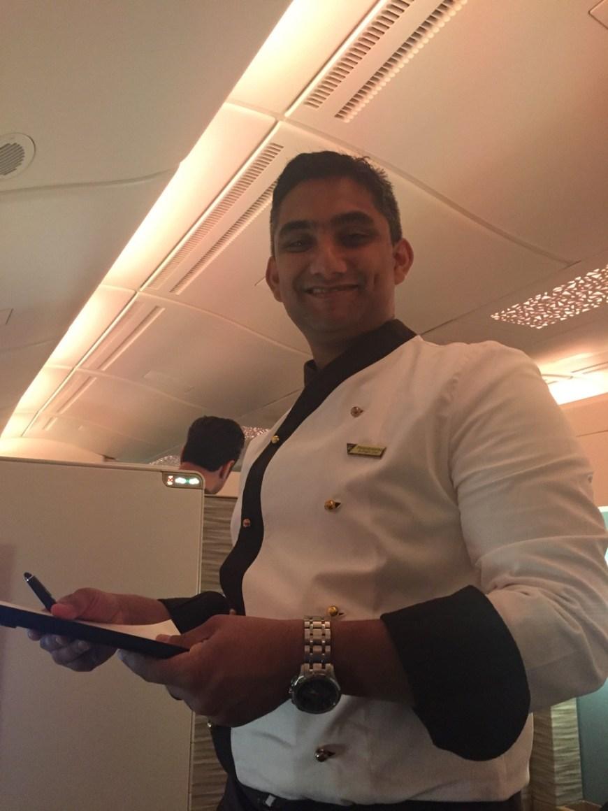 Etihad's On Board Chef