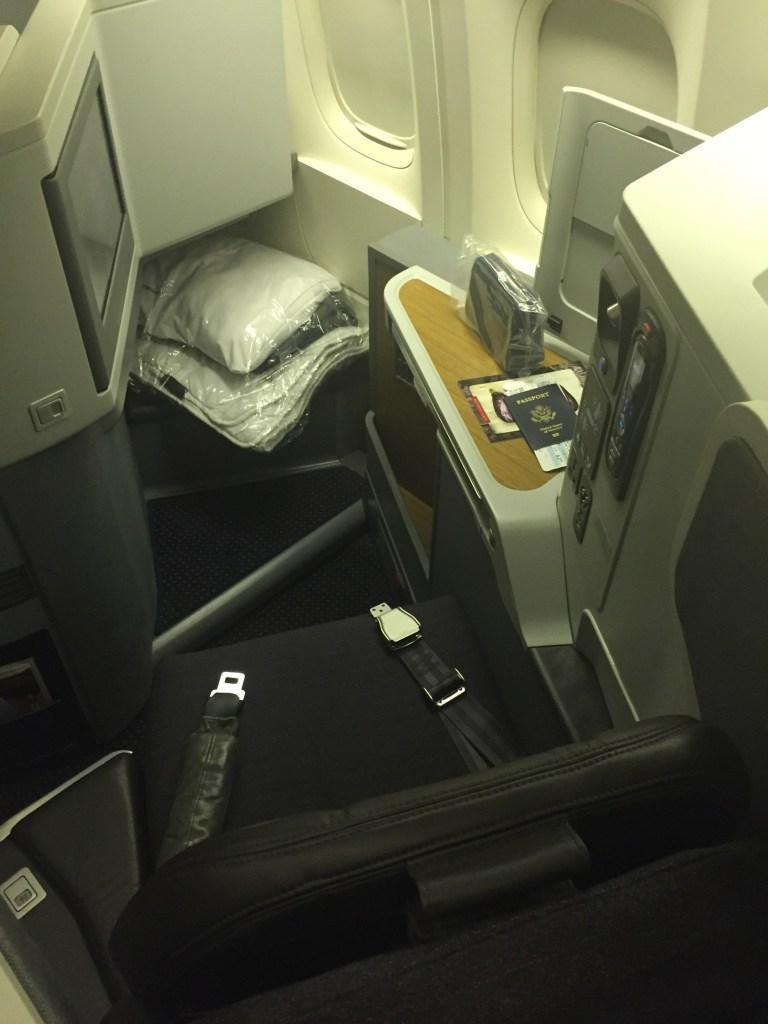 AA 777-300 Business Class