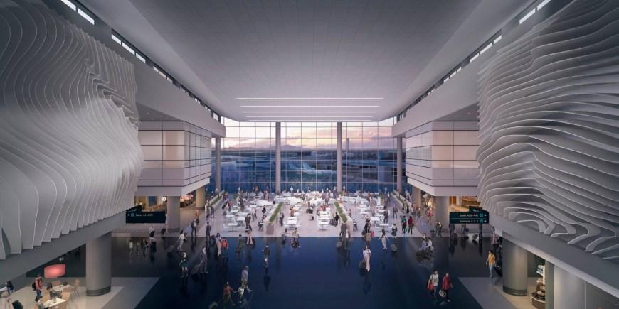 A Mock Up of Salt Lake City's new Terminal