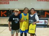 MVP's Haley Jones and Aliyah Consani-Baker