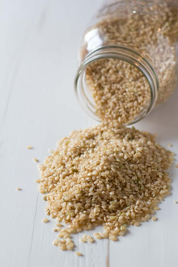 For perfect, fluffy brown rice - start it in cold water