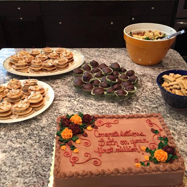 surprise party food