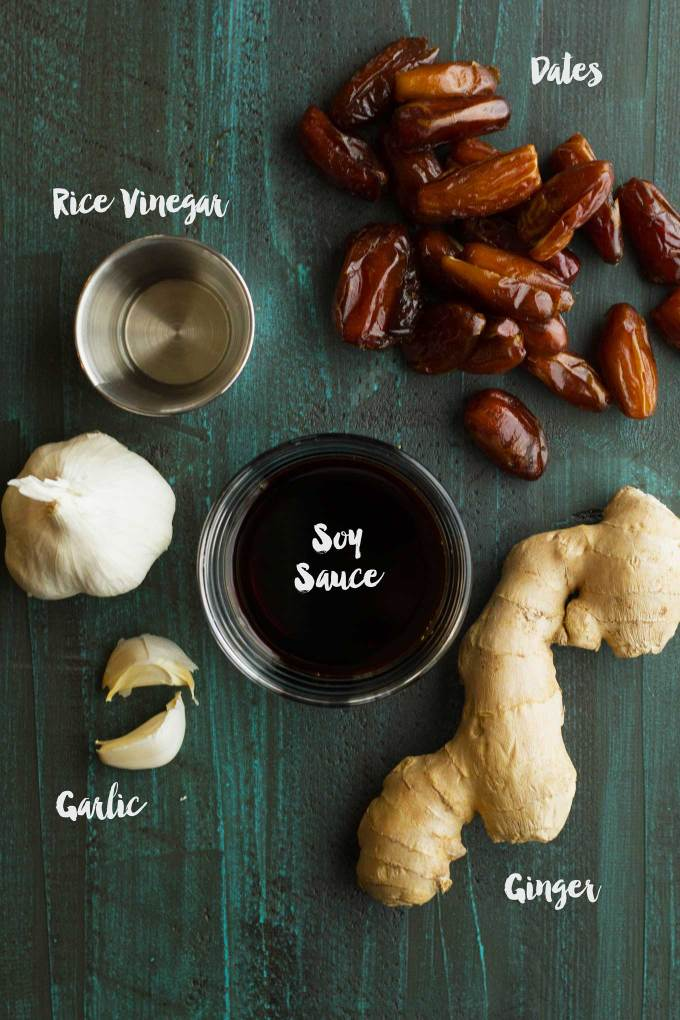 Date-Sweetened Teriyaki Sauce | Sugar-free | Vegan | Plant-based | Oil-Free | Gluten-Free | https://passtheplants.com/
