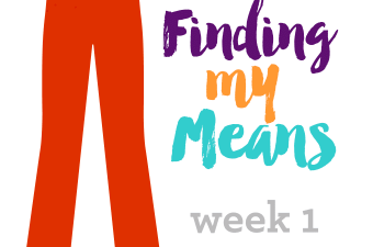 Finding My Means, Week 1 | Weight Loss | https://passtheplants.com/