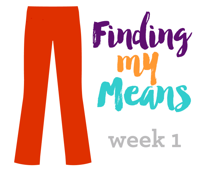 Finding My Means, Week 1   Weight Loss   https://passtheplants.com/