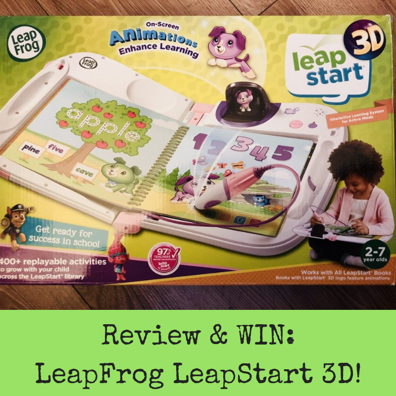 Review & WIN: LeapFrog LeapStart 3D!