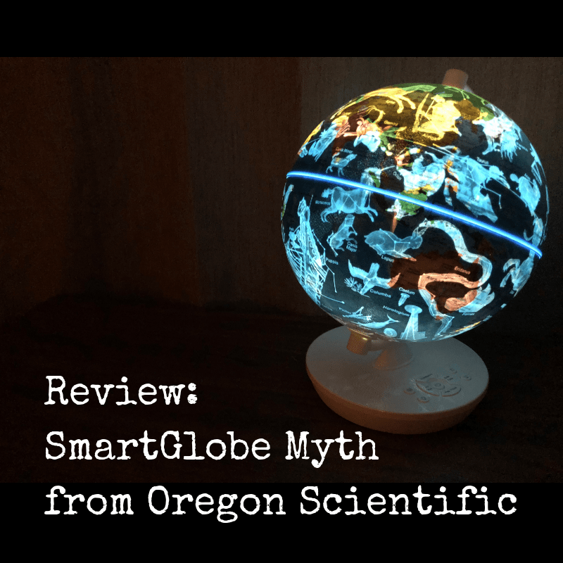 Review: SmartGlobe Myth from Oregon Scientific