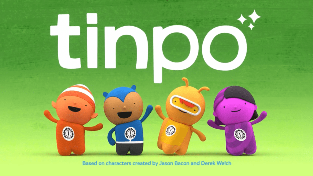 Tinpo – fun and problem solving for pre-schoolers on Cbeebies
