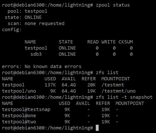 Устанавливаем ZFS в Linux. Установка и настройка