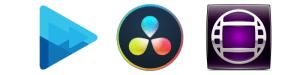 Adobe Premiere Davinci Resolve Sony Vegas Avid Media Composer