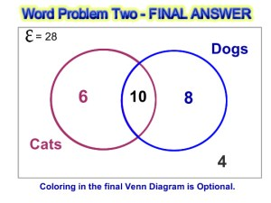 Venn Diagram Word Problems | Passy's World of Mathematics
