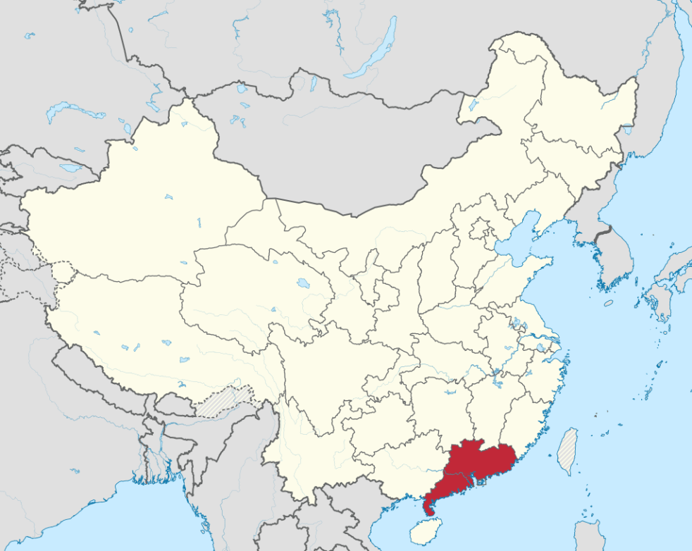 China_Map_Guangdong