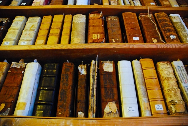 image of old books