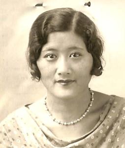 Photo of Aileen Cumyow, 1930