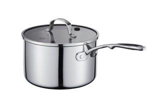 MasterChef Steelpan Tri-Ply Cookware Ø 16 cm