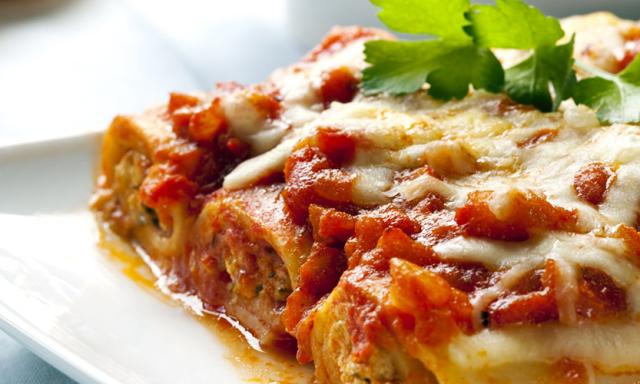 Cannelloni a la Sorrentina