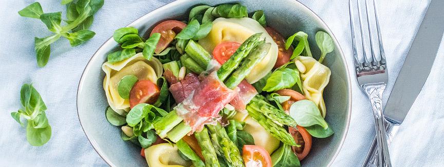 Italiaanse tortelloni salade