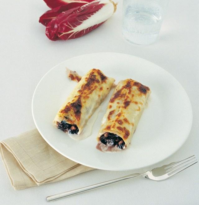 cannelloni met romige radicchio