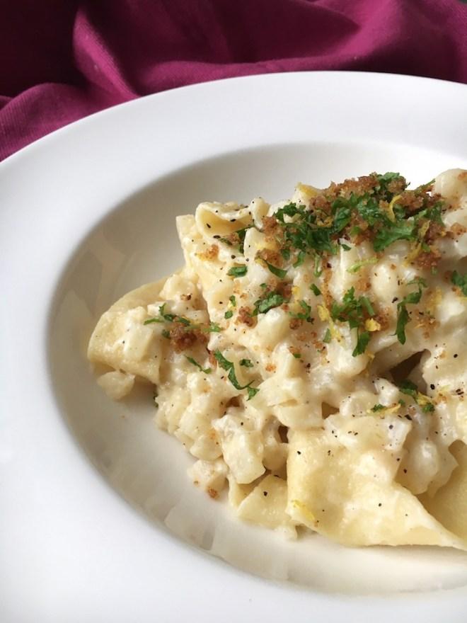 Tagliatelle mit Schwarzwurzelragout, vegetarisches Nudelrezept, Pastamaniac