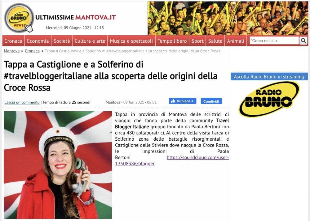 Intervista su Ultimissime Mantova per il blogtour #TBImeetDunant2021