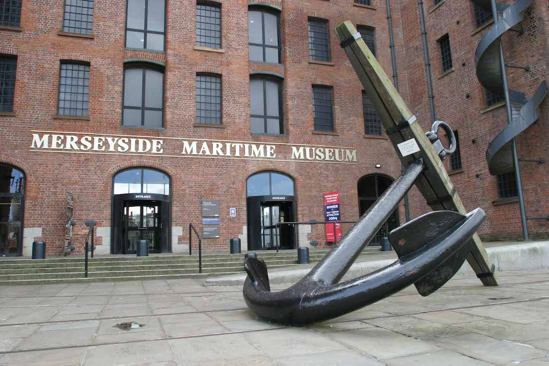 L'ingresso del Merseyside Maritime Museum