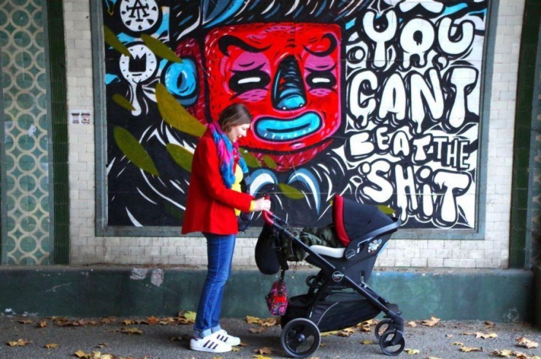 Shit Art Fair, me davanti al poster di Tadhboy