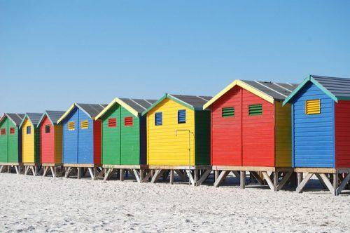 Capanna sulla spiaggia