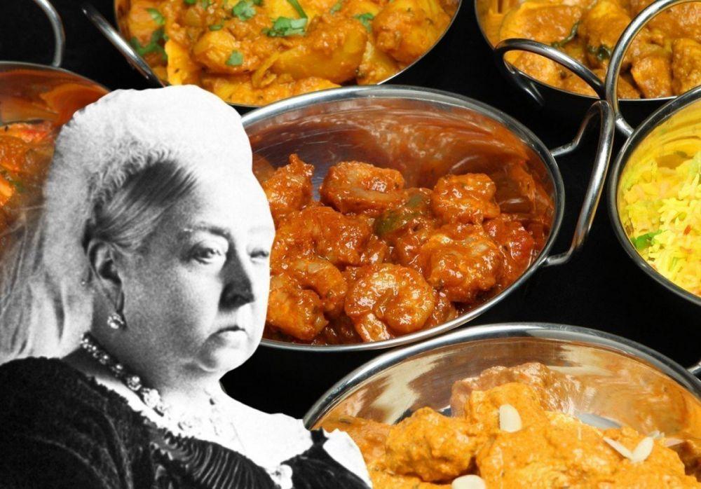 British curry e regina Vittoria