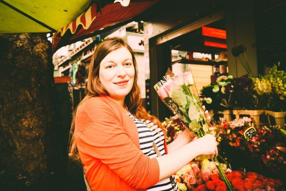 Cary's Flowers al mercato di Norwich, crediti Koalalife Production