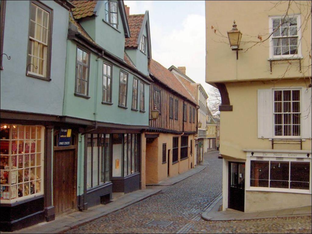 Elm Hill a Norwich