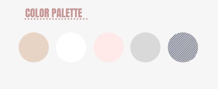 Palette di colori per creare un capsule wardrobe da viaggio