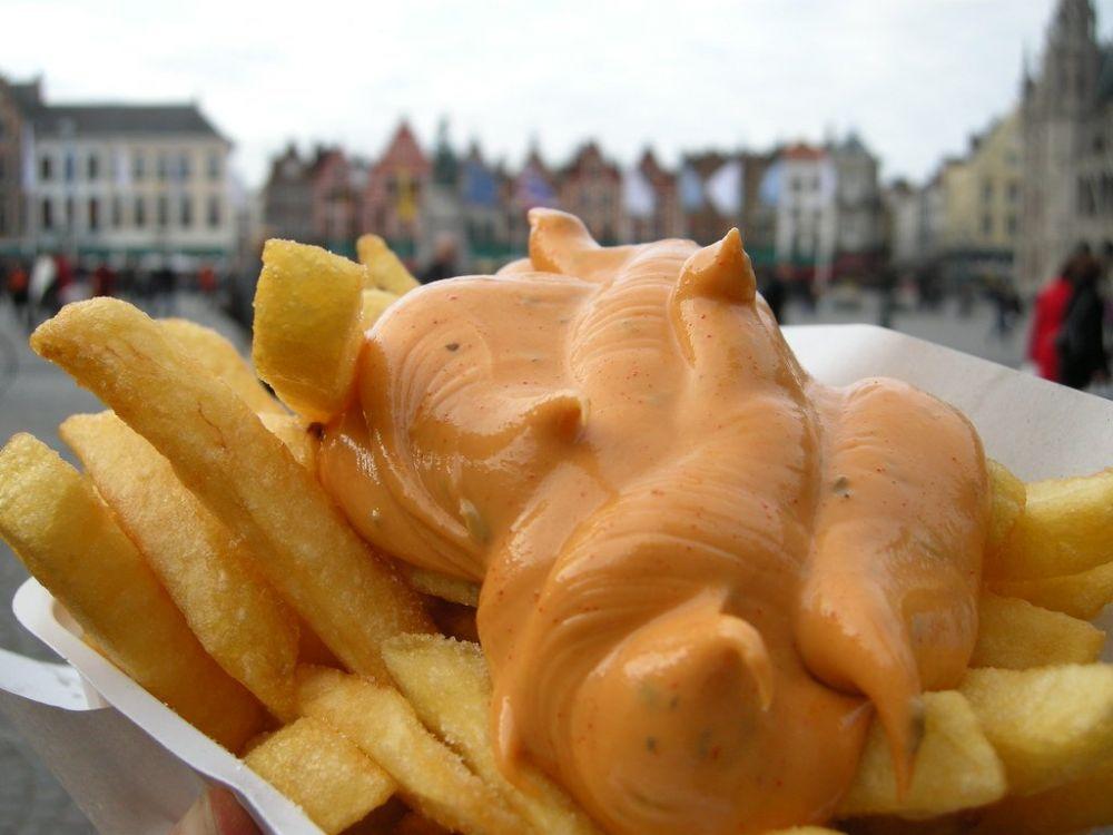 Frites, le patatine fritte di Bruxelles