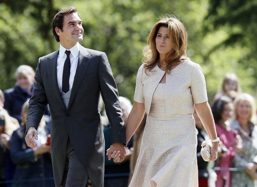Roger a Mirka Federer