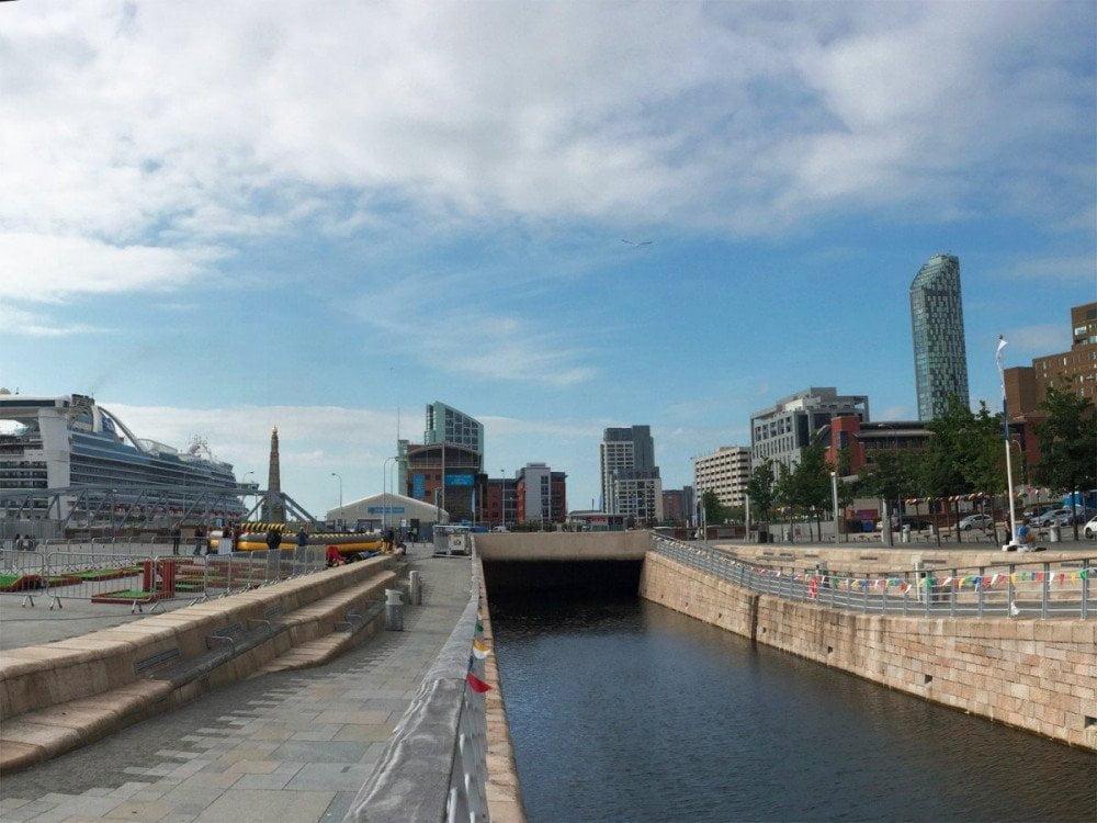 Il vecchio porto di Liverpool, ora patrimonio UNESCO