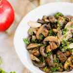 sautéed mushrooms white wine
