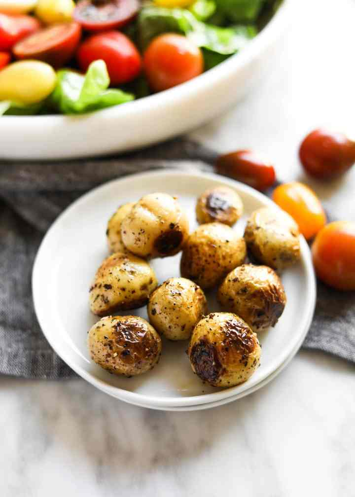 Pan-Roasted Potatoes with Herbs