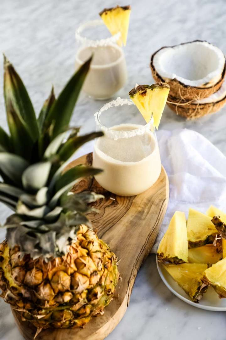 pina colada smoothie clear skin