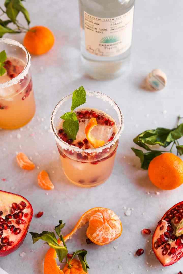 La Croix Satsuma Pomegranate Paloma - The Heirloom Pantry