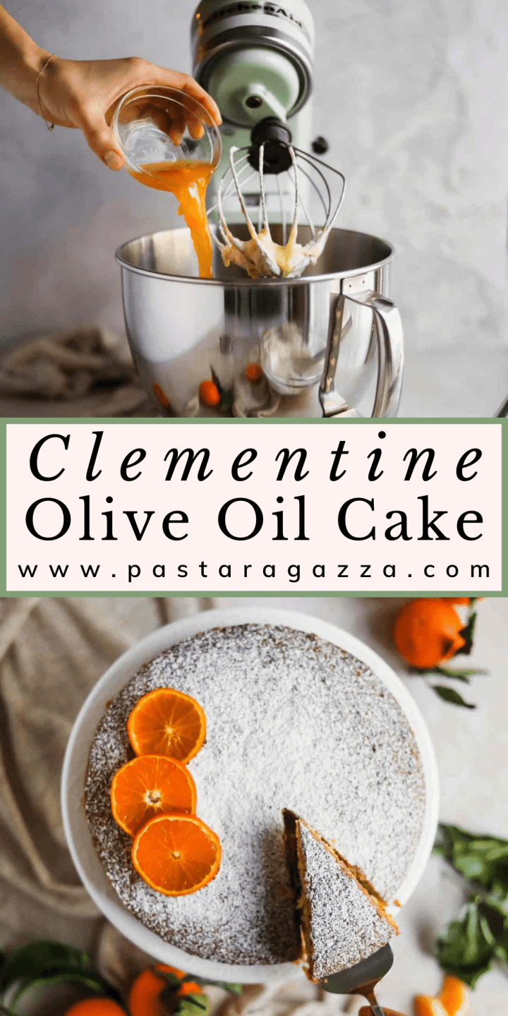 The heirloom pantry clementine olive oil cake pin