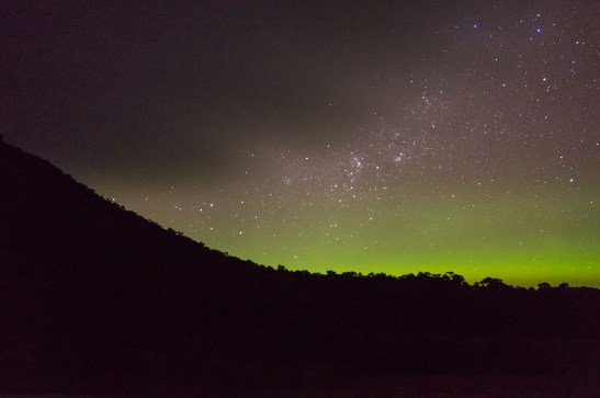 Aurora from Flinders Island
