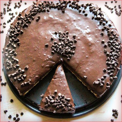 cheescake de chocolate
