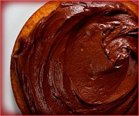 glaseado de chocolate