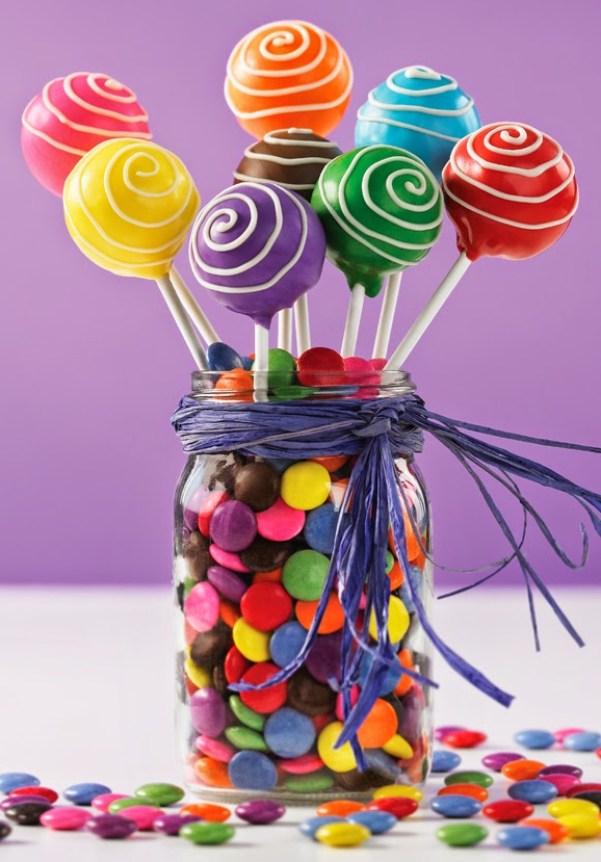 decoración con pop cakes
