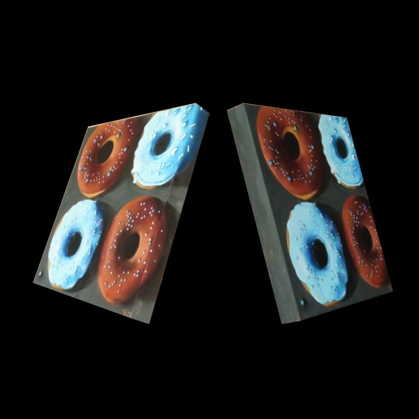 pastellbild Donuts Seiten