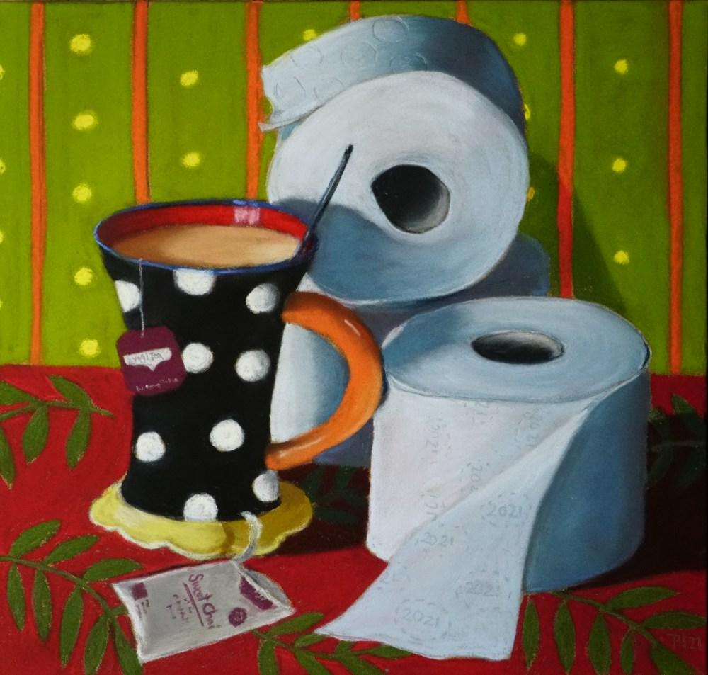 Abwarten und Tee trinken Front