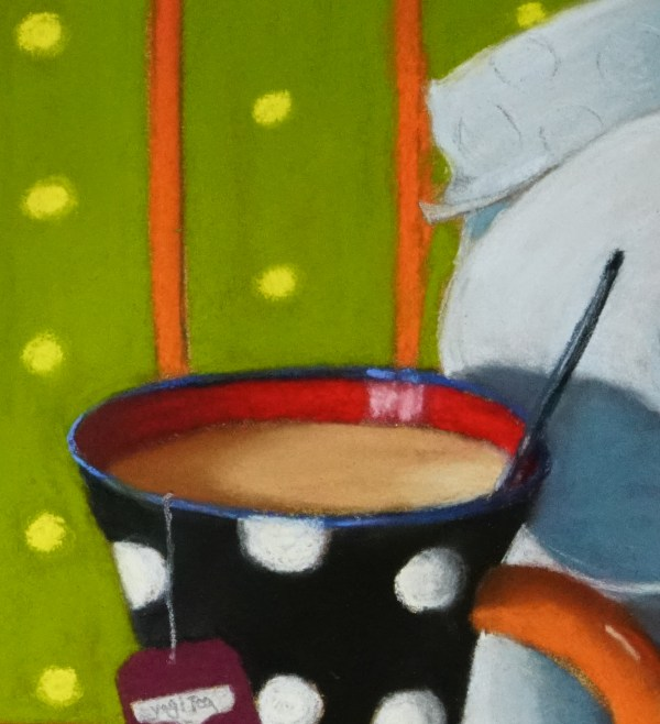 Abwarten und Tee trinken Detail