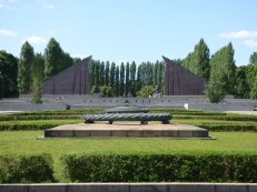 The Soviet War Memorial in Treptower Park.