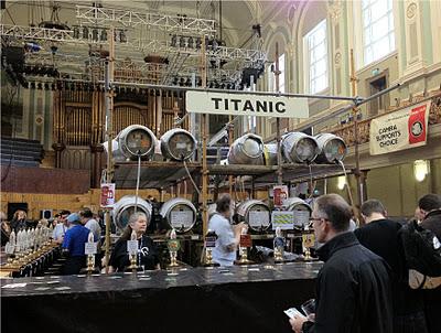 Belfast Beer and Cider Festival Titanic Rig