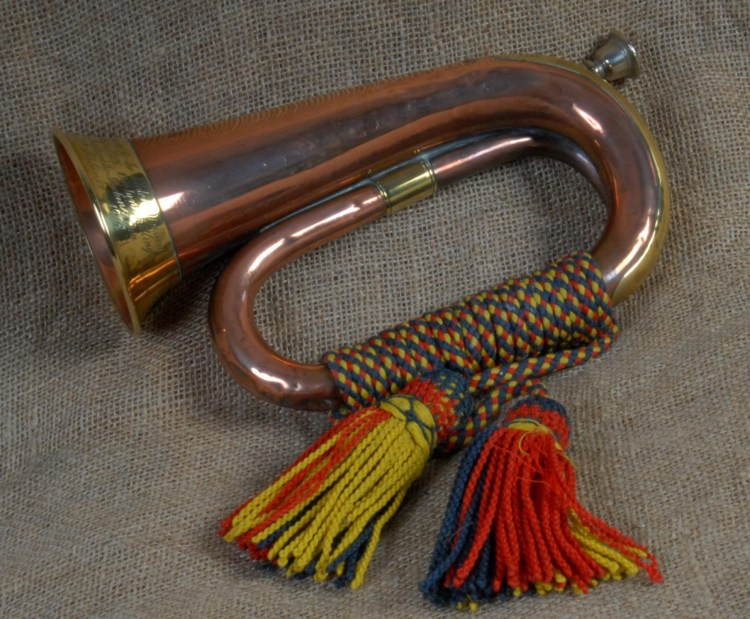 The Somme Bugle that sounded the Advance of the 36th (Ulster) Division a...